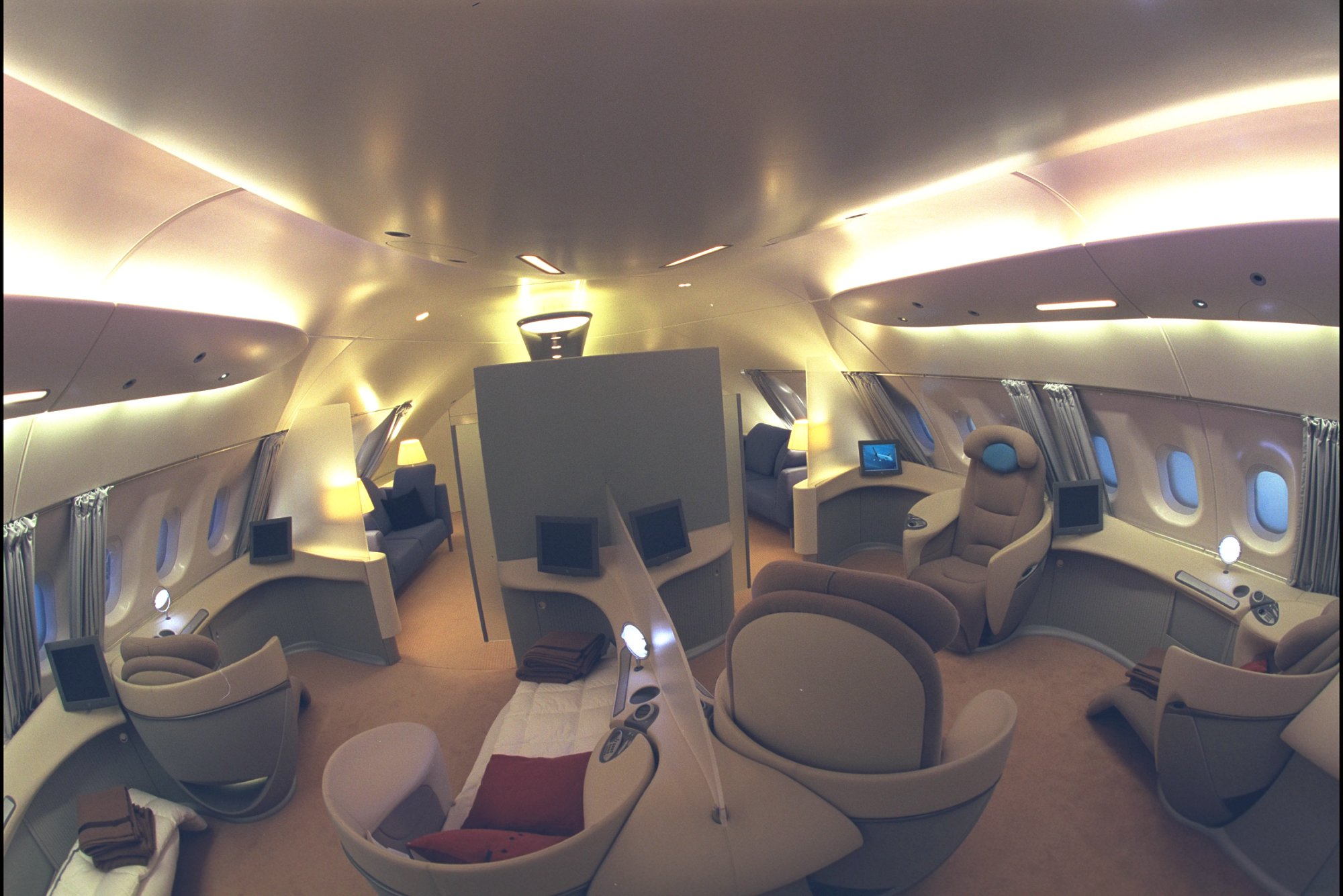 Interieur de l 39 a380 for Interieur airbus a380